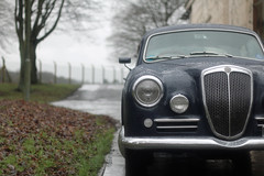 Lancia Aurelia. Bicester Heritage Sunday Scramble 3.1.2016 (Jackbaker53) Tags: heritage classic car aurelia lancia bicester eos70d