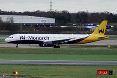G-ZBAF ~ 2016-02-07 @ BHX (03) (www.EGBE.info) Tags: airplane aviation birminghamairport planespotting airplanepictures generalaviation bhx airplanephotos monarchairlines airbusa321 egbb aircraftpictures elmdonairport aircraftpix cvtwings davelenton gzbaf 07022016