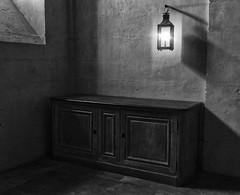 Cuisine - Petit Trianon (jeanfenechpictures) Tags: park old light paris castle window kitchen lanterne cuisine furniture tiles versailles lumiere lantern chateau iledefrance parc vieux meuble fenetre floortile trianon carrelage petittrianon