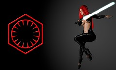 Join the dark side... (Jeny Olivieri) Tags: life uk usa game sexy love girl leather photoshop wow lesbian starwars pc outfit amazing spain mac girlfriend asia europe mesh florida slut skirt secondlife rpg second heels latex whore edit addams roleplay meshclothes theforceawakens