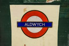 Aldwych/Strand station, roundel (2014) (Alexander Kachkaev) Tags: uk england london abandoned strand unitedkingdom aldwych legacy thetube tfl undergroundstation cityofwestminster hisotric англия lodonunderground