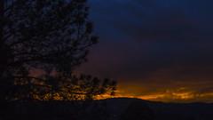 Atardecer de diciembre 2015 I (robertosanchezsantos) Tags: sunset usa naturaleza newmexico tree nature clouds atardecer twilight exterior colores nubes rbol campo ruidoso crepsculo