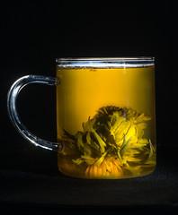 Flowering Tea Blossom (Kinesthesis) Tags: tea blossom beverage chinese blossommarigold