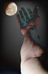 touch the moon (Tomitheos) Tags: moon eclipse satellite radiation science fusion xrays transmission diffraction polarization polarize infraredtopography