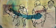 warten (Alemwa) Tags: berlin kreuzberg sketching menschen tglich zeichnung zeichnen alemwa