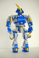 Eagle Mk. I (Wafna-204) Tags: robot lego bricks mecha mech afol legospace legophotography wafna204