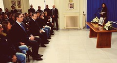 #Commemoration held for #Serbian diplomats killed in #Libya, 25/02/2016, #Belgrade (SRB_Diplomacy) Tags: belgrade commemoration serbian libiya