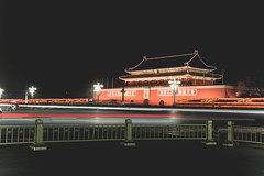 IMG_2223 (chungkwan) Tags: china longexposure trip travel winter architecture night canon landscape eos capital chinese beijing nightview   traveling tiananmen     canonphotos