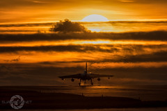""" Marham Sunset"" (SJAviation.net) Tags: nikon aircraft aviation military jet tornado raf tonka gr4 goldstars marham 31squadron za548 nikonaviation sjaviationnet"
