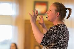20160203_NatalieKruse_CafeTalk_0010_amd (Voinovich School of Leadership & Public Affairs) Tags: mines frontroom appalachia sustainability contamination bakercenter sciencecafe minereclamation nataliekruse