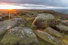 Derbyshire Sunrise (Twiggy's Photography) Tags: county clouds canon derbyshire dales baslow