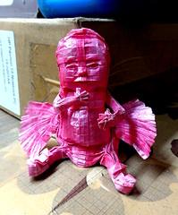 ORIGAMI BABY ANGEL (Neelesh K) Tags: baby angel paper skull spider origami dragon faces masks lincoln batman joker daredevil tracing wyvern uchiha neelesh madara boxpleating