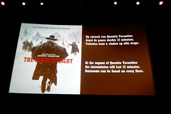 The Hateful Eight on 70 mm Ultra Panavision at the EYE (Michiel2005) Tags: holland eye film netherlands amsterdam movie nederland tarantino quentintarantino 70mm ultrapanavision thehatefuleight