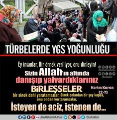Kerim Kuran 22-73 (Oku Rabbinin Adiyla) Tags: god muslim islam religion bible veli allah islamic verse mezar oku kuran himmet ayet trbe evliya irk okurabbini
