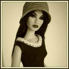 Rayna week! (Deejay Bafaroy) Tags: portrait home hat fashion sepia dorothy toys doll dress go barbie portrt hut fr royalty rayna puppe integrity kleid nuface nufantasy raynaweek februarydolls
