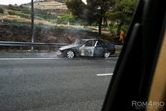 car fired (Rom4rio Photography) Tags: car 1855mm nikkor macchina fuoco fired incidente d3100 nikond3100