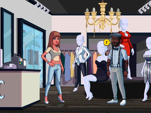 Kim Kardashian: Hollywood Gameplay: screenshots, UI