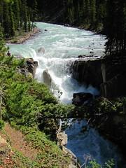 Happy Waterfall Wednesday #37 (jimsawthat) Tags: park canada forest waterfall jasper national alberta icefieldsparkway canadianrockies sunwaptafalls sunwaptariver
