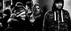 The Spire (Owen J Fitzpatrick) Tags: ojf people photography nikon fitzpatrick owen j joe street pavement chasing d3100 ireland editorial use only ojfitzpatrick eire dublin republic city candid tamron oconnell unposed social crowd crowded woman beauty beautiful attractive face coat walk pedestrian blonde phone cap mono monochrome bw black white blackwhite blackandwhite lady spire candidphoto candidphotography candidportrait natural blancoynegro pretoebranco schwarzundweis  hiybi  hi y bi nigra kaj blanka    aswd w abyad czarny biay kaala aur saphed