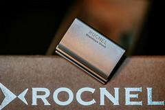 Rocnel Stainless Steel (koolandgang) Tags: writing roc se text indoor razor closeshave safetyrazor classicshaving phead wetshave nikond700 nikon105vrmicro singleedge nikonsb900 nikonsb700 316steel rocnel
