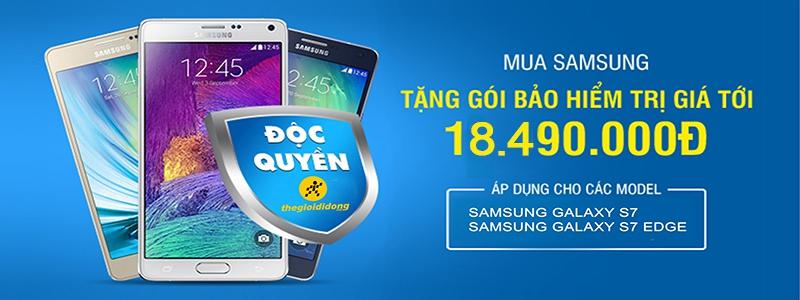Chi tiết về gói Bảo hành VIP của Samsung khi mua Galaxy S7/S7 Edge tại thegioididong.com