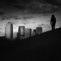 Emergence (vulture labs) Tags: london skyline zeiss photography fineart conceptual canarywharf vulturelabs
