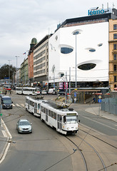 T3G (1609) (Tomáš Markovič) Tags: city house building architecture tram brno salina tramvaj mhd čkd ckd šalina