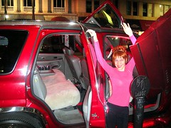Sofia Goldberg. Red, exotic car #2 (Sofia Metal Queen) Tags: cute girl beautiful beauty car night hair star goldberg cool model sofia weekend awesome queen exotic fancy vehicle diva redcar sportcar redhaired extoc sofiametalqueen