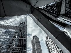 Tower 42 and the Gherkin (Roger Nolan LRPS) Tags: london gherkin tower42
