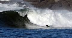 ASIER IBAEZ / 4704DRL (Rafael Gonzlez de Riancho (Lunada) / Rafa Rianch) Tags: sea mer beach sports sport strand mar surf waves surfing olas cantabria deportes laisla sturm ocano acantilados surfen santamarina