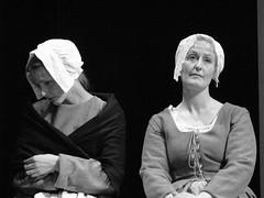 (Kelvin P. Coleman) Tags: nottingham portrait bw blancoynegro loss canon sadness sad emotion noiretblanc theatre rehearsal stage performance scene powershot actor drama schwarzweiss performer groupshot grief grieving bereft bereavement
