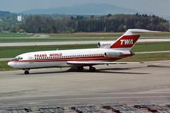 "Trans World Airlines - TWA Boeing 727-31 N848TW ""City of Vienna"" (Kambui) Tags: airplane airplanes zrich twa aviones avions kloten zrh flugzeuge  avies boeing727 aeroplani kambui"