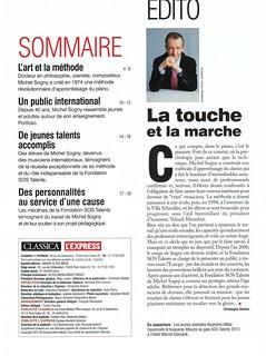 MICHEL SOGNY PRESSE CLASSICA L'EXPRESS DECEMBRE 2015