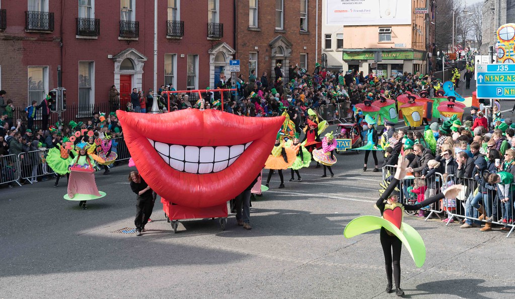 ARTISTIC AT THE ST. PATRICK'S DAY PARADE [MARCH 17 2016]--112465