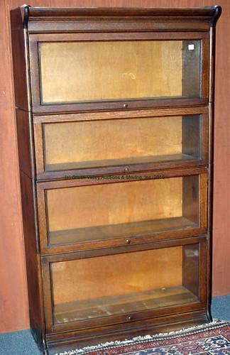 Oak 4 Stack Bookcase - $495.00 (Sold July 31, 2015)