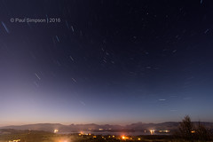 Starlight not so starbright... (pauls1502) Tags: longexposure night stars landscapes nikon nightsky benlomond balloch lochlomond startrails northstar luss benarthur arrocharalps gartocharn