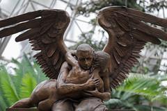Metal Art III (billcoo) Tags: love statue garden nude wings fuji bokeh fujifilm oriental bernardo fujinon bronse monumental xt1 50140mm