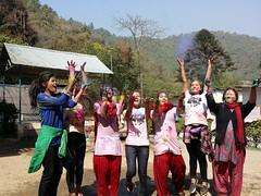 Holi Time (rukmini_foundation) Tags: nepal colors celebration holi didi mentoring