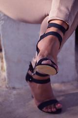 Ozono Shoes (lupita2008) Tags: black feet high shoes heels tacones negros fetiche piernas ozono