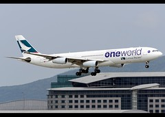 Airbus | A340-313 | Cathay Pacific Airways | Oneworld Scheme | B-HXG | Hong Kong | HKG | VHHH (Christian Junker | Photography) Tags: china plane hongkong airport nikon asia aircraft aviation cx landing airline airbus arrival nikkor dslr heavy cathay hkg teleconverter sar a340 lantau d800 clk cathaypacific 70200mm 208 widebody planespotting oneworld cheklapkok cpa a340300 hkia a343 swire cathaypacificairways hongkonginternationalairport hongkongphotos speciallivery a340313 vhhh specialcolours flickraward 25r wwwairlinersnet specialscheme bhxg zensational worldtrekker seaspotting boatspotting oneworldscheme flickrtravelaward superflickers d800e christianjunker