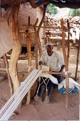 IMG_0055 (georgegotdam) Tags: cotton mali weavers region weaving fibers mopti looms