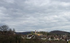 Frsterbergturm (Lightsplitter) Tags: cloudy wolkig stadtoldendorf frsterbergturm