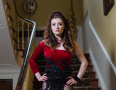 Ally on Model Shoot - DSC_0036 (John Hickey - fotosbyjohnh) Tags: people lady female stairs person model nikon indoor femalemodel dublinireland 2016 modelshoot nikond5100 april2016