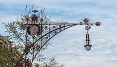 Street-lamp-detail_DSC1050 (Mel Gray) Tags: barcelona spain streetlamp passeigdegrcia