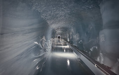 the iced way (Eddy Alvarez) Tags: tourism ice switzerland tunnel palace tourist glacier jungfrau