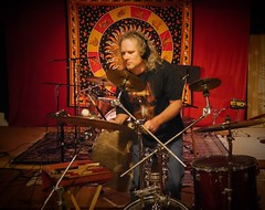 Andy Janowiak recording percussion for Jim Popik.  Video still from 4k (hopetownsound) Tags: musician drums percussion drummer drumming producer cymbals recording recordingstudio hopetownsound