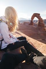 Delicate Arch (kylesipple) Tags: park travel sunset sunrise landscape utah arches wanderlust national canyonlandsnationalpark canyonlands hip archesnationalpark delicatearch vsco kylesipple