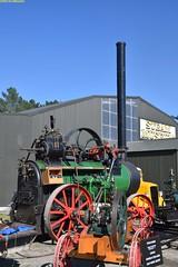PE_Garrett_02_McLeansIsland_10April2016 (nzsteam) Tags: price train island traction engine railway scene steam engines locomotive boiler boilers mcleans sawmilling