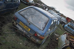 DSC_9812 (srblythe) Tags: uk classic cars ford abandoned graveyard car austin volkswagen scotland volvo rust fiat decay north rusty british scrapyard hyundai leyland vauxhall volvograveyard