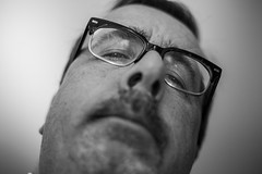 Selfie (Phil Roeder) Tags: blackandwhite iowa canonef50mmf18 desmoines selfie canon6d
